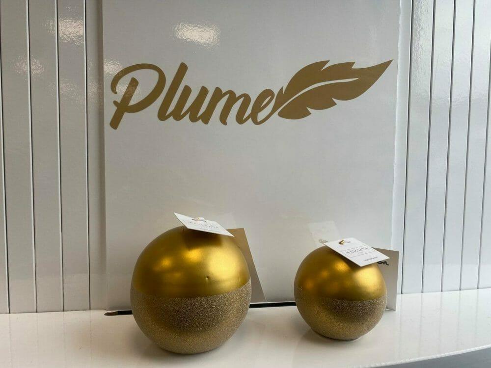 bougie plume